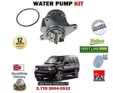 para Land Rover Discovery 3+4 2.7td V6 190bhp 2004-2012 NUEVO Kit Bomba de agua