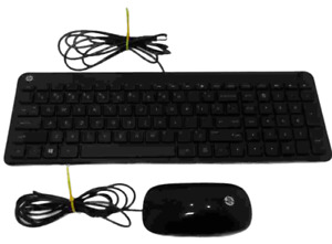 HP Hewlett Packard Wired Keyboard and Wired Optical Mouse SK-2028