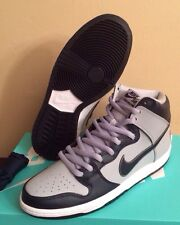 Nike Dunk High Premium SB Rivalry Pack Dark Grey DS 2014 size 10.5 Georgetown