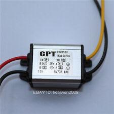 Alquiler De Fuente de alimentación de CC 12 V A Dc 5v 3a 15w Convertidor Step Down Transformador inversor
