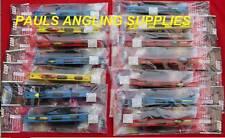 14 Assorted Carp Pole Fishing Rigs Hook Sizes  12- 22