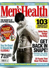 MENS HEALTH MAGAZINE - January February 2009