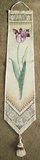 Garden Classics Tulip Tapestry Wall Hanging Bellpull ~ Fabrice de Villenueve