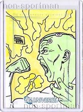 DC LEGACY BRAINIAC SKETCH CARD BY DANIEL BRANDA0