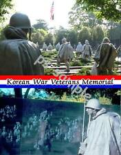 WASH DC - KOREAN WAR MEMORIAL - Travel Souvenir Flexible Fridge Magnet