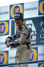 THIERRY BOUTSEN Williams FW13 WINNER AUSTRALIAN GRAND PRIX 1989 fotografia 2