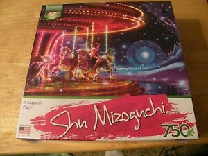 Serendipity 750 piece puzzle A Magical Place, by Shu Mizoguchi new unopened
