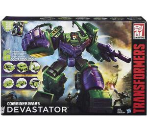 Transformers Combiner Wars Devastator Titan Class Set of 6 Constructicons Hasbro