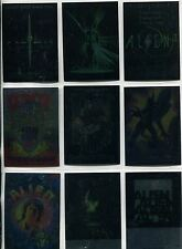 Alien Legacy Complete Poster Gallery Chase Card Set CP1-9