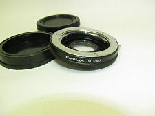 Fotodiox Lens Adapter - Minolta MD Lens to Minolta AF/ Sony Alpha Body