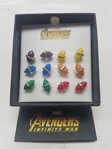 Marvel Avengers: Infinity War Infinity Stones Stud Earring Set -  Exclusive