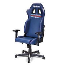 Sparco Icon Martini Racing Gaming / Sim Racing / Office Adjustable Chair