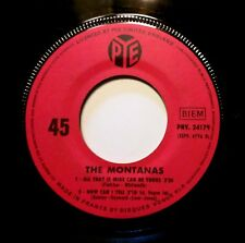 MOD FREAKBEAT FUZZ EP: THE MONTANAS That's When Happiness Began +3 PYE 24179 A1