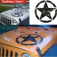 Universal DIY Black Star Pattern Decal Vinyl Stickers For Car Truck Body Trim