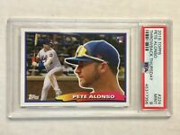 PETE ALONSO 2019 Topps TB Thursday SP RC #224! PSA MINT 9! CHECK MY OTHER ITEMS!