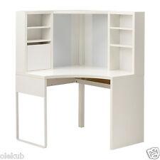 IKEA MICKE Desk Table Computer Corner Work Station White 502.507.13