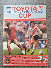 More details for 1986 - club world cup final programme - steaua bucharest v river plate