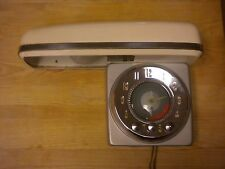 Vintage General Electric GE #3T50 ACA1 Electric Range Timer Mid Century W/Canopy