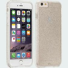 Case-Mate Sheer Glam Case for Apple iPhone 6 and 6s - Clear / Champagne CM031409