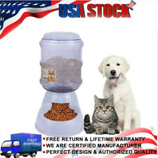 3.8L Pet Automatic Feeder Dog Cat Drinking Bowl For Dog Drinking Water Cat Food