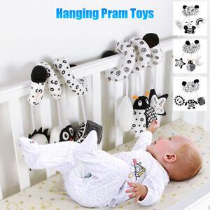 Baby Activity Hanging Pram Toy Spiral Pushchair Stroller Bedding Car Seat Cot UK