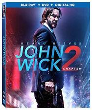 John Wick Chapter 2 (Blu-ray,DVD,2017, Includes Digital Copy)