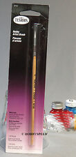 TESTORS MODEL PAINT BRUSH SIZE 2 ROUND SYNTHETIC BRISTLES artist TES 8733