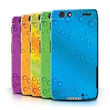Stuff 4 Case/Case/Back Cover for Motorola Razr xt910/Water Drop