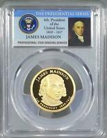 2007-S PCGS PR70DCAM George Washington Presidential Dollar