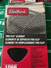 Edelbrock 1099 Pro-Flo Air Filter Replacement Filter