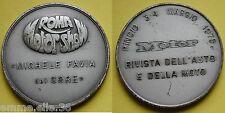 MEDAGLIONE MOTOR SHOW ROMA MICHELE FAVIA DEL CORE - RIVISTA MOTOR PINCIO 1975