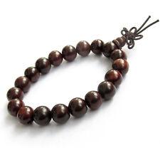 10mm Wood Beads Tibet Buddhist Prayer Bracelet Mala