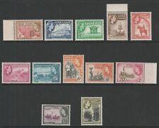 Gold Coast 1952 Complete set SG 153-164 Mnh.