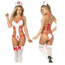 Nurse Cosplay Uniform Costume Outfit Sexy lingerie Nurse Cosplay Fancy Suit