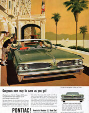 Ritz Carlton Cannes PONTIAC TEMPEST Kaufman FITZPATRICK French Riviera 1958 Ad