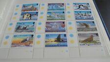 BRITISH ANTARCTIC TERRITORY 1998 SG 290-301 BIRDS  MNH