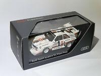 RARE Audi Sport Quattro S1 Pikes Peak au 1/43 de minichamps A5-5806