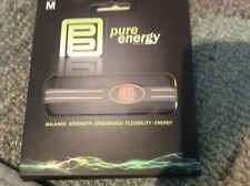 PURE ENERGY BAND - Size Medium M Clear / Pink (Balance, Strength, Endurance)