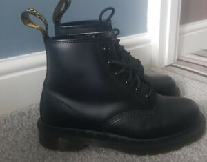 *NEW DR MARTENS SIZE 6 1460 MONO SMOOTH BLACK AIR WAIR BOOTS*LOOK*RRP £149.99*