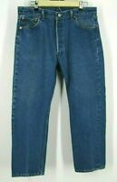Vintage Levis 501xx Made In USA Jeans 36x28 Denim Button Fly Mens