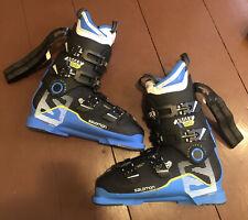 Salomon X-Max 120 Used Men's Ski Boots Size 11.5 Mondo 29.5 #230906 - Excellent