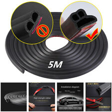L Shape Rubber Weather Strip Hollow Edge Seal For Car Doors/Hood/Trunk Universal