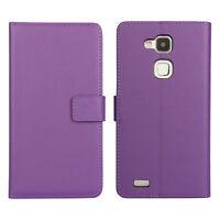New Handmade Genuine Leather Skin Card Wallet Folio Flip Case Cover For Samsung