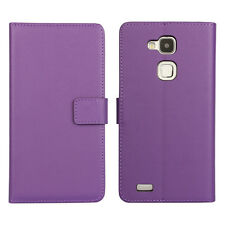New Handmade Genuine Leather Skin Card Wallet Folio Flip Case Cover For Samsung