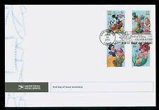 USA #3912-15  2005 37c Art of Disney Celebration First Day Ceremony Program