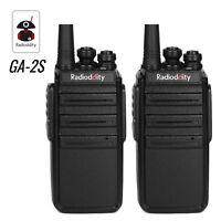 1Pair Radioddity GA-2S UHF 16Channels Walkie Talkie Two way Radio +Free Earpiece