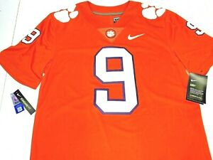 $135 NWT SIZE S 2XL MEN Nike Clemson Tigers STITCHED Football Jersey EMBROIDERED