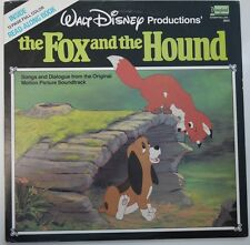 "Disney Record Walt Disney productions' ""The Fox and the Hound"" - ST-3823 - (NM)"