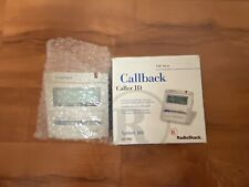 Radio Shack Callback Caller ID System 360 43-980