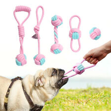 Dog Tough Chew Toys for Large Dogs Cotton Rope Interactive Playing Toy Durable